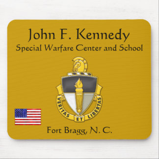 JFK SPECIAL WARFARE CENTER MOUSE PAD