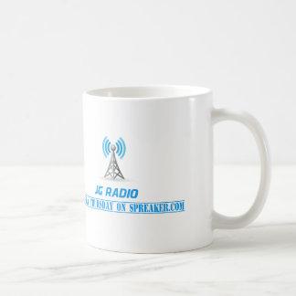 JG radio products Basic White Mug