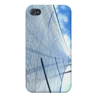 Jib Sail and Mast Picture iPhone 4 Cases
