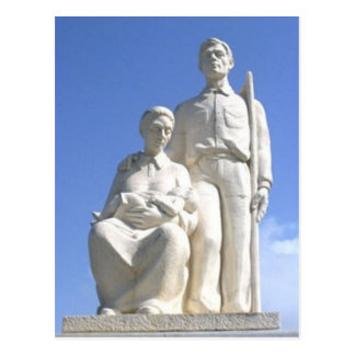 Jibaro Monument Postcard