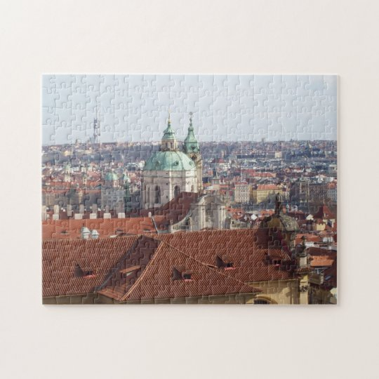 Jig Saw Puzzle- view from Prague Castle Jigsaw Puzzle