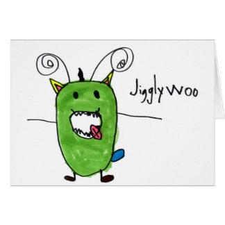 Jigglywoo • Ian Mann, Age 6 Card