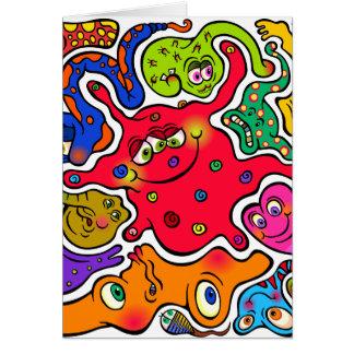 Jigsaw Germs Card