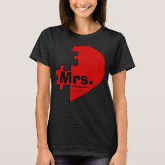 jigsaw HEART,LOVE -COUPLE T-Shirt
