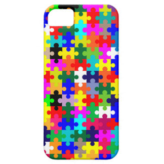 Jigsaw Pieces In Colour iPhone 5 Covers