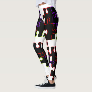 Jigsaw puzzle Design leggings