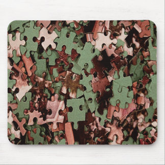 Jigsaw Puzzle Novelty Mouse Pad