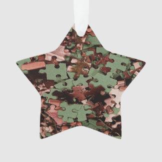 Jigsaw Puzzle Novelty Ornament