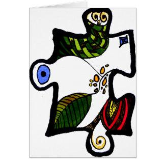 Jigsaw Puzzle Piece 01 Card