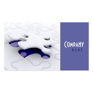 Jigsaw Solving Business Card