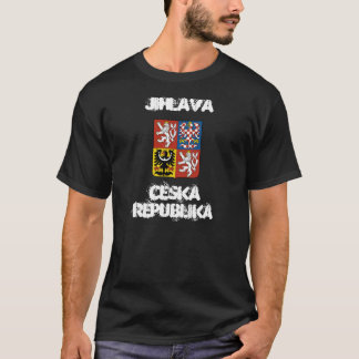 Jihlava, Czech Republic with coat of arms T-Shirt