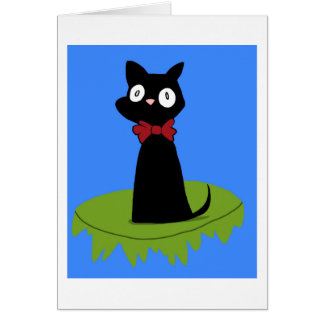 Jiji black cat (Ghibli) Card