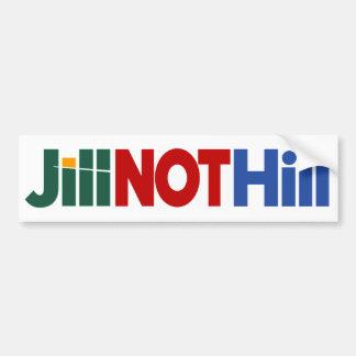 Jill NOT Hill Bumper Sticker