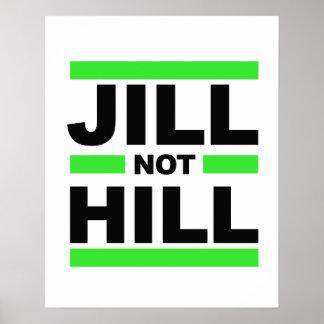 Jill Not Hill - - Jill Stein 2016 - Poster