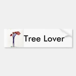 JILL S TREE Tree Lover Bumper Sticker