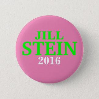 Jill Stein 2016 button pink