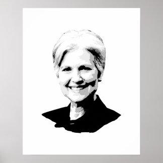 Jill Stein - Bust - Poster