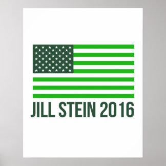 Jill Stein for America 2016 - - Jill Stein 2016 -. Poster