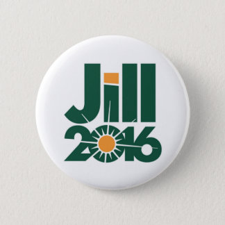 Jill Stein for President 2016 Button