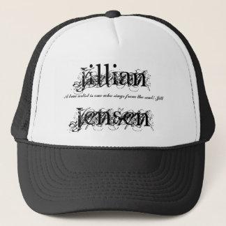Jillian Jensen, A true artist is o... - Customized Trucker Hat