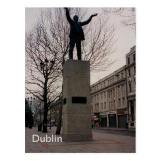 Jim Larkin Monument, O'Connel St., Dublin, Ireland Postcard