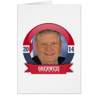 JIM OBERWEIS CAMPAIGN GREETING CARD