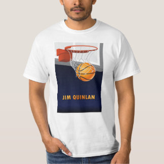 Jim Quinlan Basketball T-Shirt