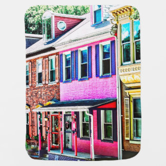 Jim Thorpe Pa - Colorful Street Baby Blanket