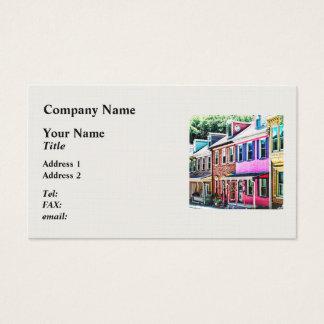 Jim Thorpe Pa - Colorful Street Business Card