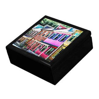 Jim Thorpe Pa - Colorful Street Gift Box
