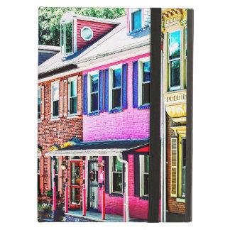 Jim Thorpe Pa - Colorful Street iPad Air Cover