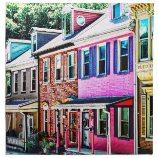 Jim Thorpe Pa - Colorful Street Napkin