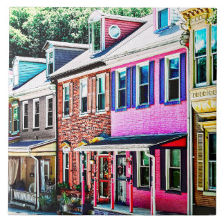 Jim Thorpe Pa - Colorful Street Tile