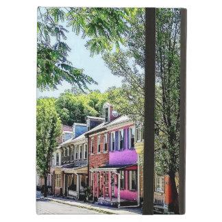 Jim Thorpe PA - Quaint Street Cover For iPad Air