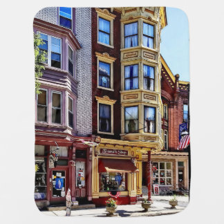 Jim Thorpe Pa - Shops Along Broadway Baby Blanket