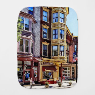 Jim Thorpe Pa - Shops Along Broadway Burp Cloth