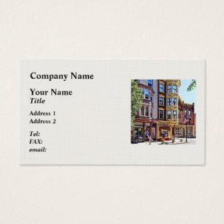 Jim Thorpe Pa - Shops Along Broadway Business Card