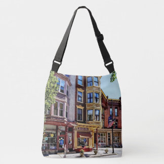 Jim Thorpe Pa - Shops Along Broadway Crossbody Bag