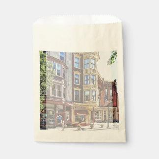 Jim Thorpe Pa - Shops Along Broadway Favour Bag