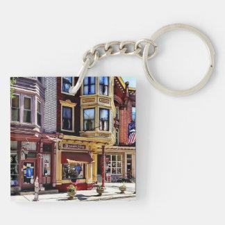 Jim Thorpe Pa - Shops Along Broadway Key Ring