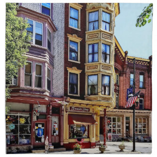 Jim Thorpe Pa - Shops Along Broadway Napkin
