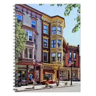 Jim Thorpe Pa - Shops Along Broadway Notebook