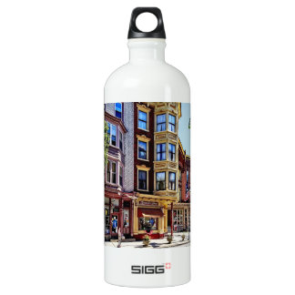 Jim Thorpe Pa - Shops Along Broadway Water Bottle