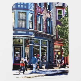 Jim Thorpe Pa - Window Shopping Baby Blanket