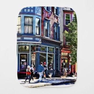 Jim Thorpe Pa - Window Shopping Burp Cloth