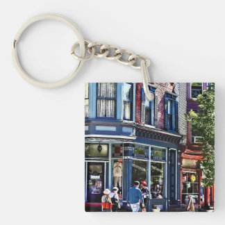 Jim Thorpe Pa - Window Shopping Key Ring
