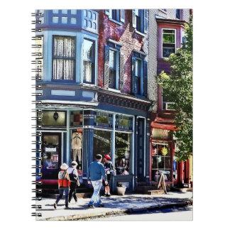 Jim Thorpe Pa - Window Shopping Notebook