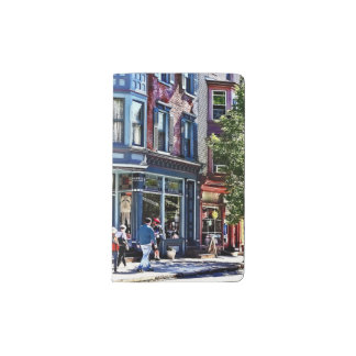 Jim Thorpe Pa - Window Shopping Pocket Moleskine Notebook