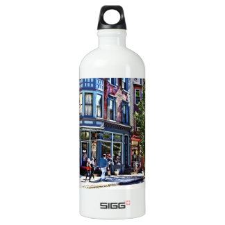 Jim Thorpe Pa - Window Shopping Water Bottle