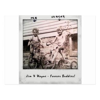 Jim & Wayne Postcard